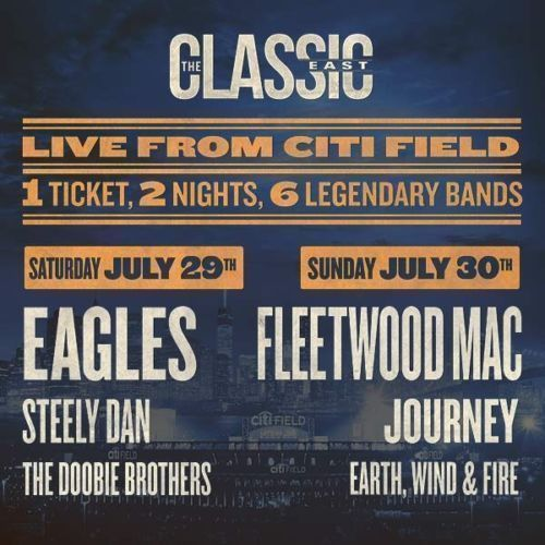 #tickets The Classic East - 2 Day Ticket - July 29 & 30 - 2 Tickets at Citi Field please retweet