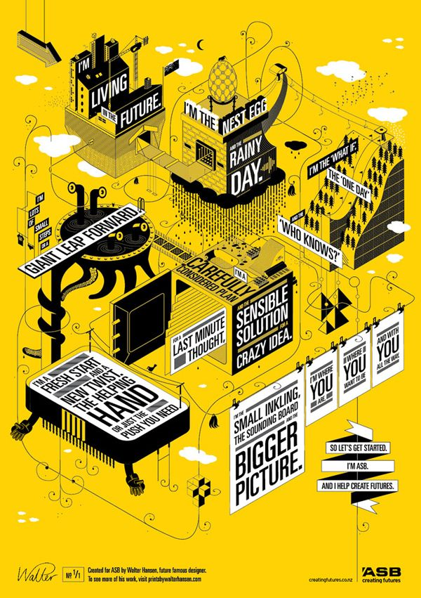 ASB Creating Futures by Walter Hansen, via Behance
