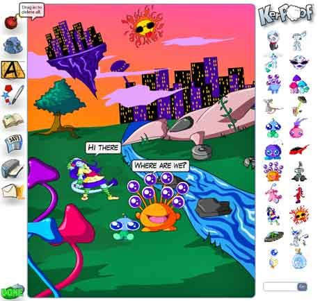 48 Ultra-Cool Summer Sites for Kids and Teachers: Comic Scene, For Kids, Allowance Student, Create Comic, Ultra Cool Summer, Education Website, Teacher, Summer Site, Animal Movie
