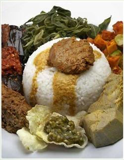 Indonesian Cuisine: Nasi Padang.