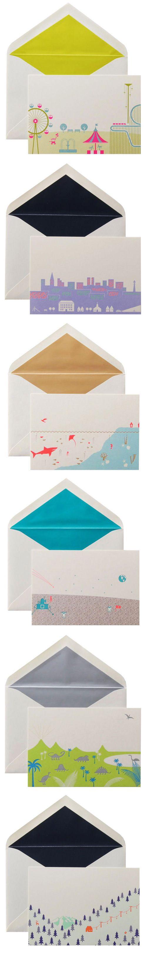 Winged Wheel Letter Press Card Set