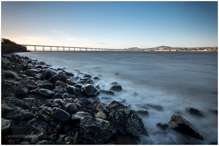 Tay Bridge in Dundee, SCOTLAND.