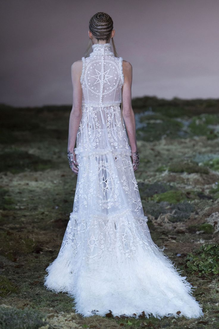 666 best fashion shows 2014 tightly curated images on for Alexander mcqueen dress wedding