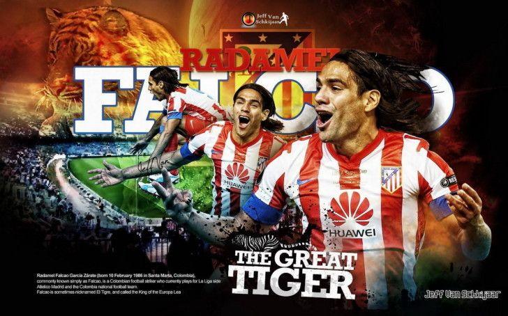 Atletico Madrid Wallpapers : Atletico De Madrid Radamel Falcao