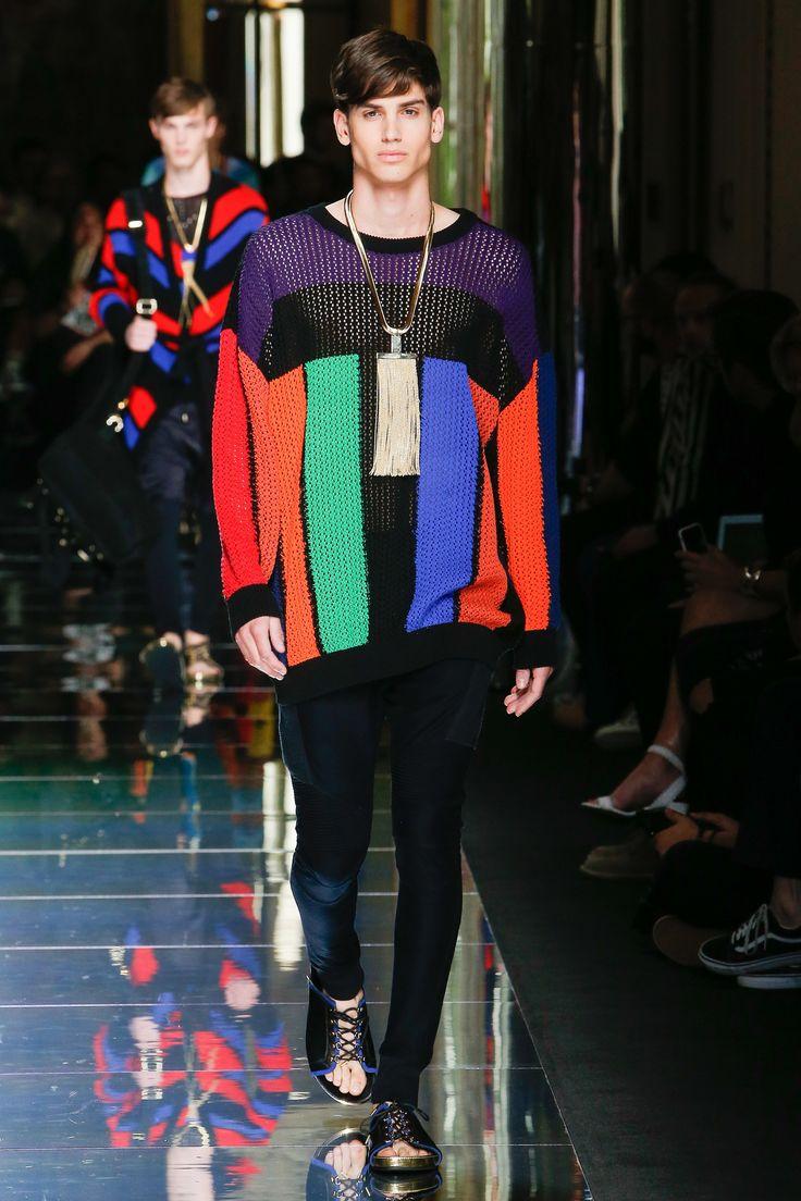 Balmain Spring 2017 Menswear Collection Photos - Vogue