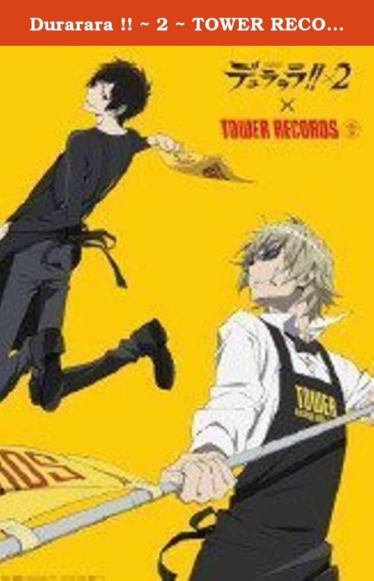 Durarara !! ~ 2 ~ TOWER RECORDS collaboration tapestry Chara. It's shipped off from Japan.