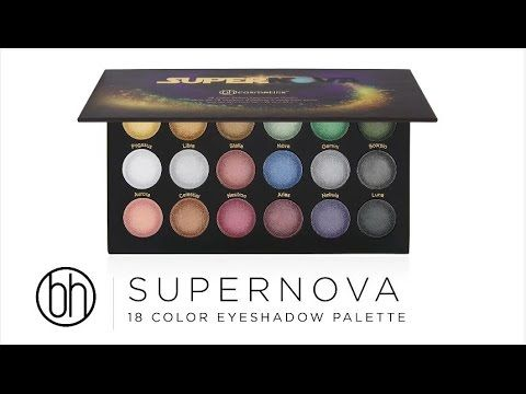 Supernova 18 Color Baked Eyeshadow Palette   BH Cosmetics