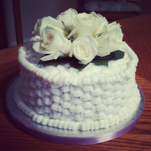 10th Wedding Anniversary Party Ideas: 10th Wedding Anniversary Cake For Uncle Gregg And Aunt