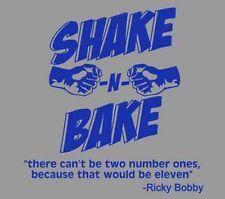 Talladega Nights The Ballad of Ricky Bobby Shake N & Bake blu ray dvd T Shirt