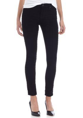 Hudson Jeans Women's Midrise Super Skinny Jean - Black - 27 Average