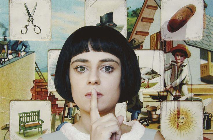 The Hush  photo by Loretta Lux, 1999