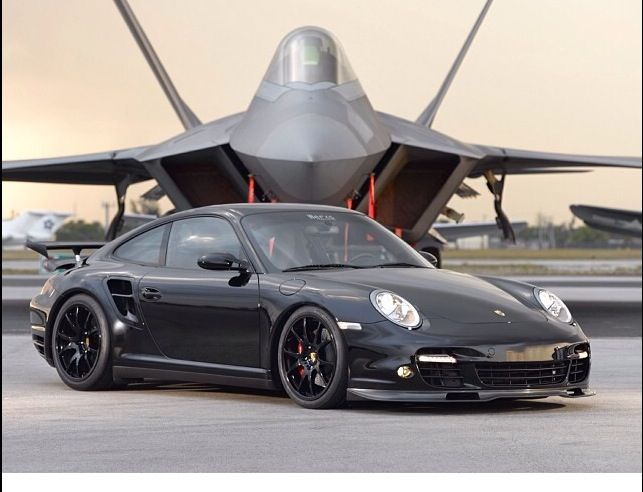 Porsche nine eleven - 911  - black