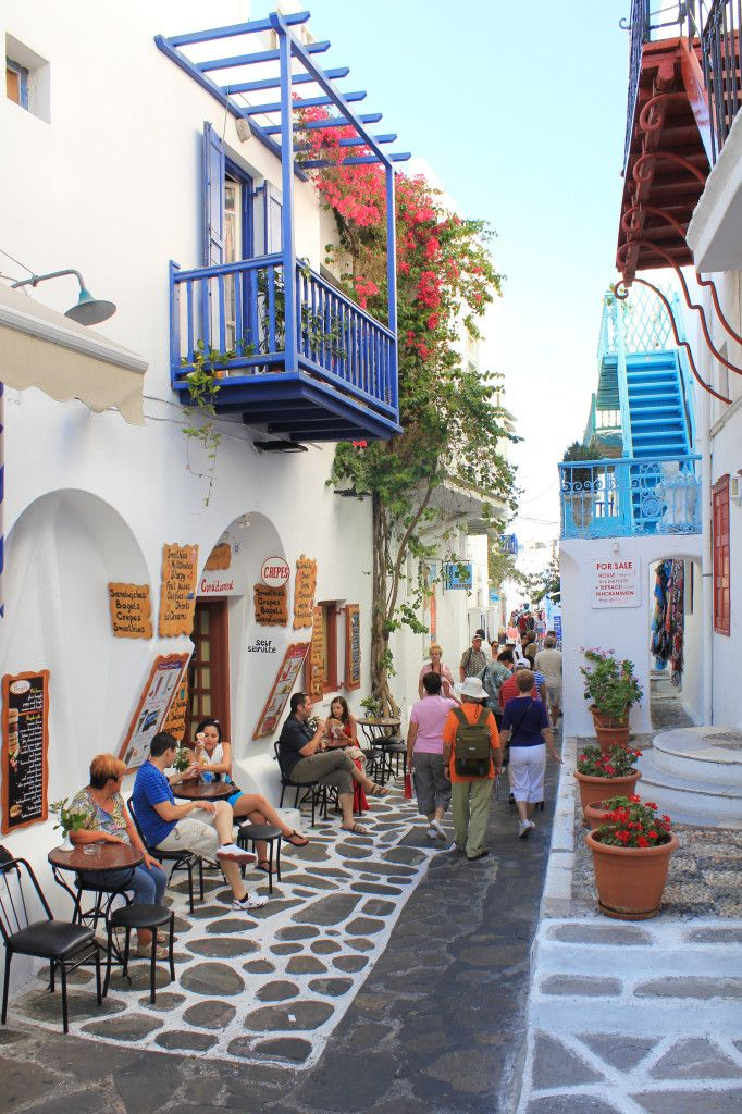 Mykonos, Insel, Griechenland