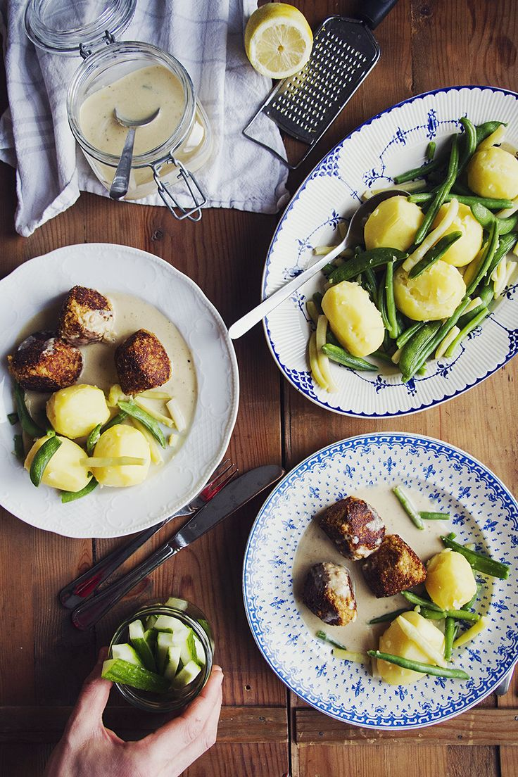 Recept på vegbullar i citronsås och spätta tikka masala