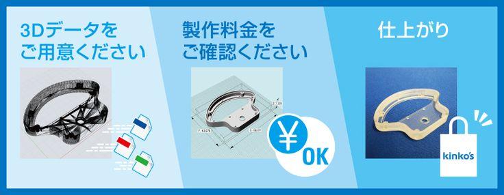 キンコーズ:3Dプリントサービス
