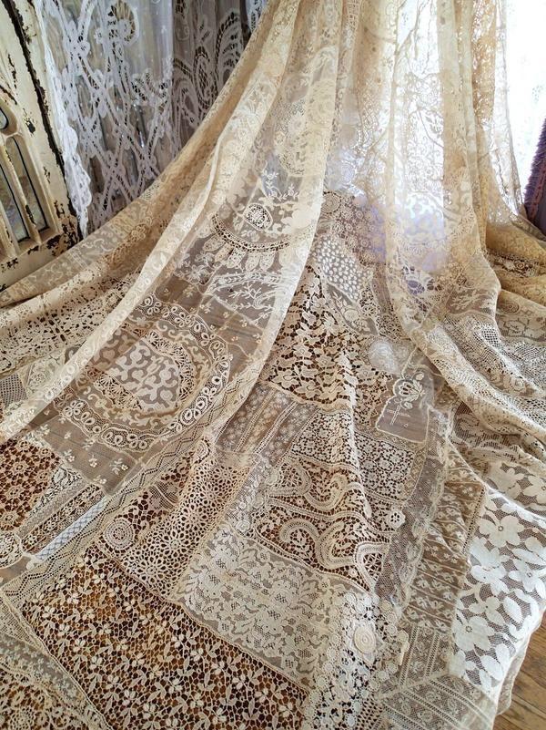in Antiques, Linens & Textiles (Pre-1930), Lace, Crochet & Doilies