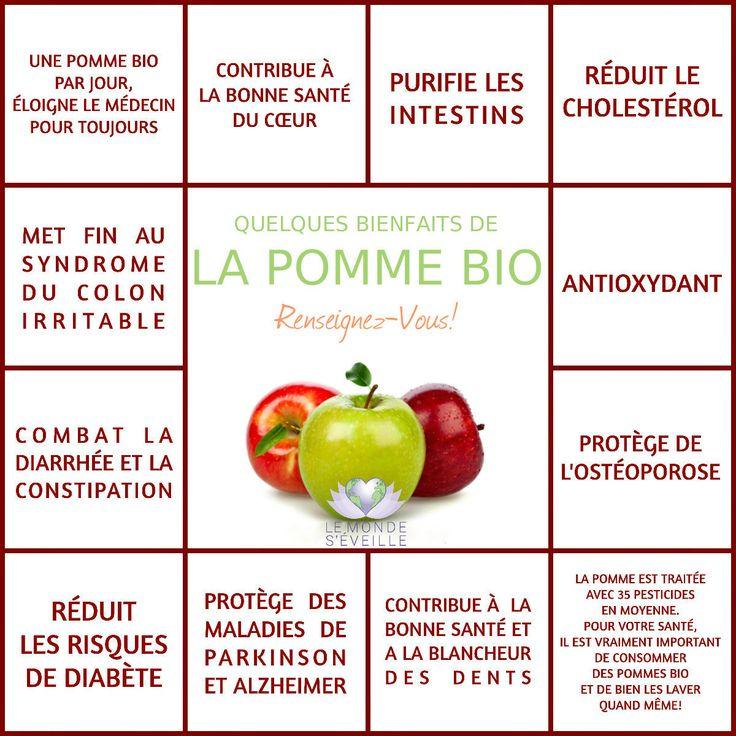 Les Bienfaits de la Pomme | LA POMME Le Monde s'Eveille Grâce à Nous Tous ♥