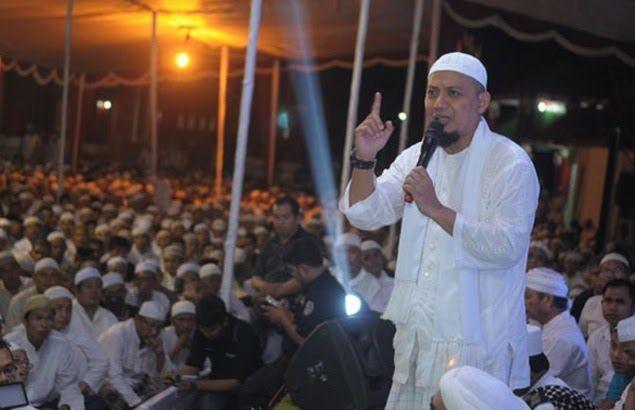 Ustadz Arifin Ilham Tegaskan Akan Turun Lagi ke Jalan Kalau Ahok tak Masuk Penjara