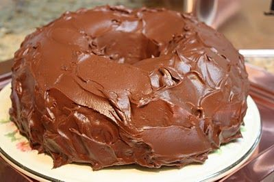 """This is the BEST chocolate cake, ever. My sister made this for me in a pinch when I had to bring a dessert to a party. I thought I could slide under the radar and simply bring a delicious cake. It wasn't until I had a crowd of people around me begging for the recipe and asking about the """"seceret ingredient"""" that I had to confess that I did not make it. Truly, the best chocolate cake ever."""