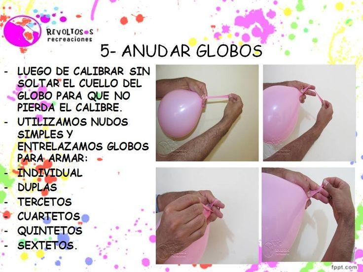 5   COMO ANUDAR GLOBOS CURSO DECORACION CON GLOBOS   BALLOON DECORATION ...