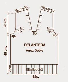 patrones de sueter de hombre tejido con dos agujas
