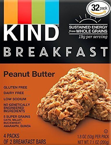 KIND Breakfast Bars Peanut Butter Gluten Free 1.8 Ounce 32 Count - $17.02 with Subscribe and Save - Amazon.com #LavaHot http://www.lavahotdeals.com/us/cheap/kind-breakfast-bars-peanut-butter-gluten-free-1/182012?utm_source=pinterest&utm_medium=rss&utm_campaign=at_lavahotdealsus