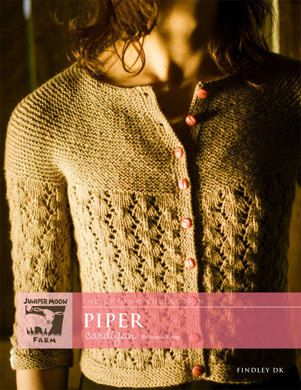 Piper Cardigan in Juniper Moon Findley DK - Downloadable PDF. Discover more patterns by Juniper Moon Farm at LoveKnitting. The world's largest range of knitting supplies - we stock patterns, yarn, needles and books from all of your favourite brands.