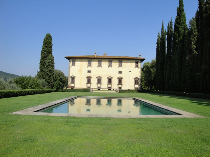 Pietro Porcinai - Works - Swimming pool - Villa I Collazzi