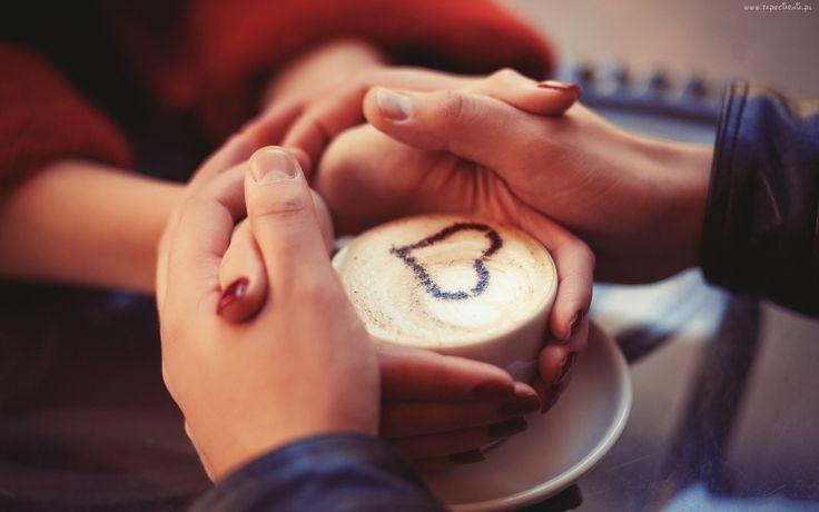 Dłonie, Kawa, Miłość