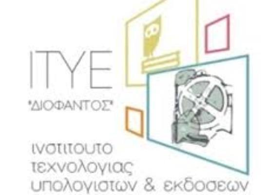 Επίσκεψη του υπουργού Νίκου Φίλη στις εγκαταστάσεις του ΙΤΥΕ-Διόφαντος στον Ασπρόπυργο     20-04-16 Επίσκεψη του υπουργού Νίκου Φίλη στις εγκαταστάσεις του ΙΤΥΕ-Διόφαντος στον Ασπρόπυργο  Τις εγκαταστάσεις του Ινστιτούτου Τεχνολογίας Υπολογιστών και  Εκδόσεων (ΙΤΥΕ)-Διόφαντος θα επισκεφτεί την Παρασκευή 22 Απριλίου στη 1  το μεσημέρι ο υπουργός Παιδείας Έρευνας και Θρησκευμάτων Νίκος  Φίλης. Οι εγκαταστάσεις βρίσκονται στη θέση Κύριλλος και Μαγούλα στον  Ασπρόπυργο.  Η επίσκεψη θα…