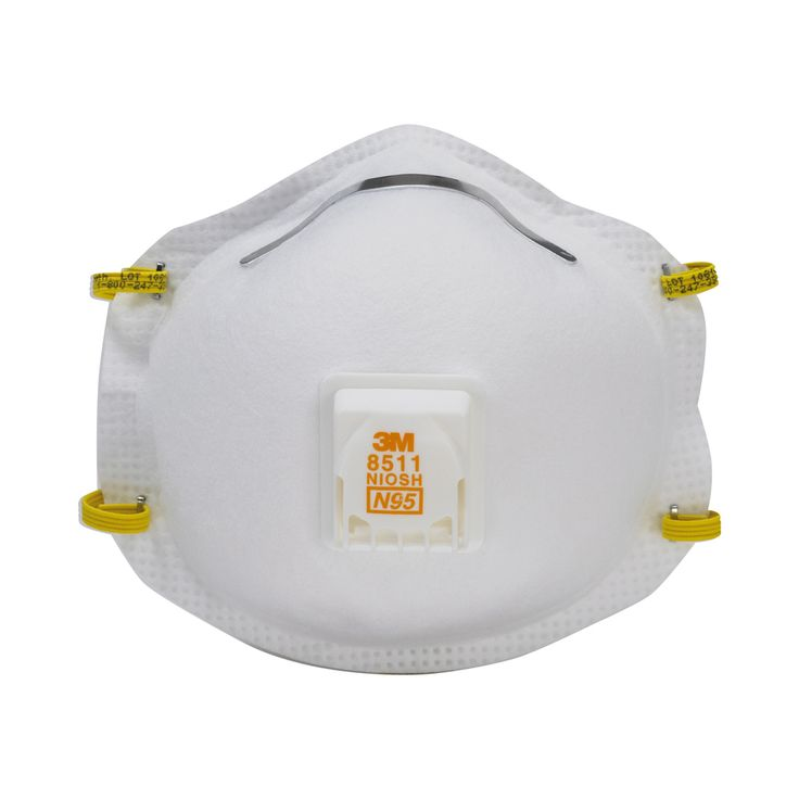 3m 8511 respirator n95 cool flow valve (10-pack) lowes