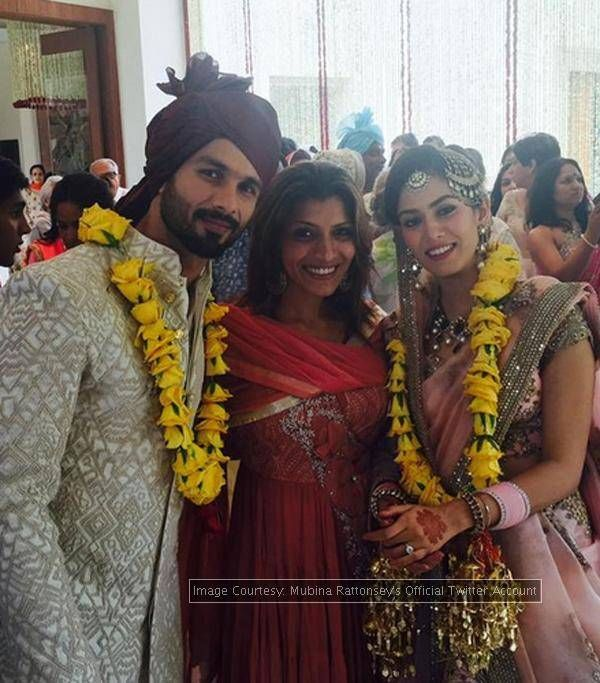 #ShahidKiShaadi: Celebs have fun at the wedding - The Times of India