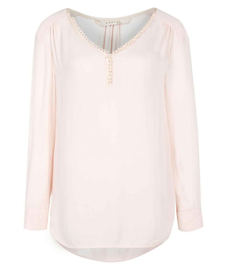 Pale Pink Georgette Blouse