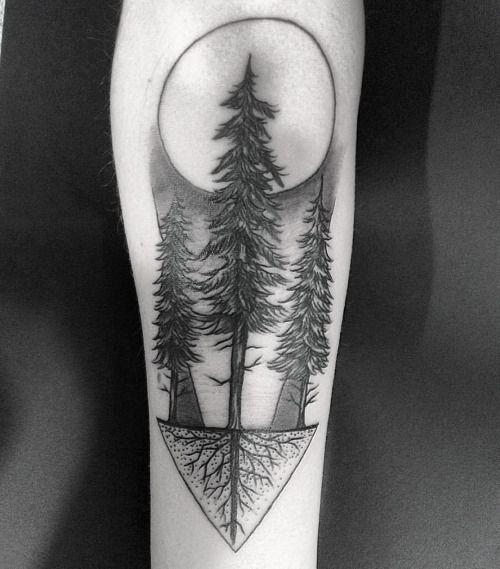 evergreen tattoos - Google Search