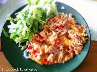 Recept - Kyckling och risgratäng