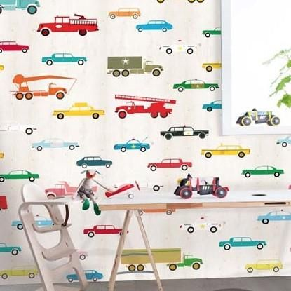 Onszelf Kids Wallpaper Panels   OZ3160 Aeroplanes – Sarah van Kassel