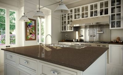 Caesarstone® Wild Rice™ Kitchen