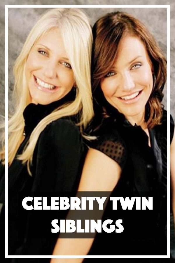 """The Olsen twins may be the only pair of famous twins you can think of, however, there are plenty more celebrities who have a twin. Most of the time only one of them aspired to lead that Hollywood life, and the other twin lives a """"normal"""" family life."""