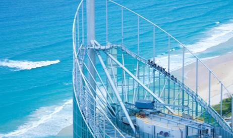 Skypoint Climb at Q1 - Surfers Paradise
