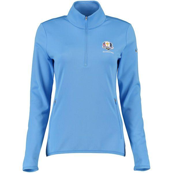 2016 Ryder Cup Nike Women's Thermal Half-Zip Performance Jacket - Blue - $59.49