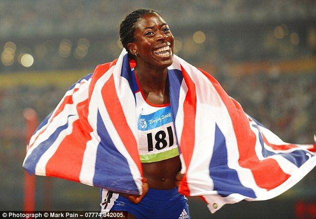 Christine Ohuruogu, gold medallist in Beijing
