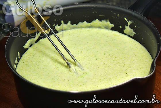 Molho Bechamel Verde » Molhos, Receitas Saudáveis » Guloso e Saudável