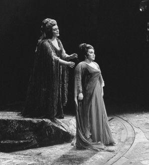 "Dame Joan Sutherland & Marilyn Horne in Bellini's ""Norma"". 