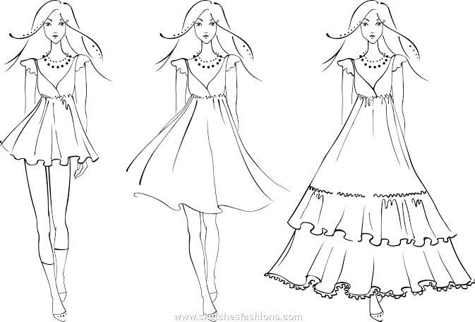 Image Result For Fashion Model Coloring Pages Fashion Design Coloring Book Fashion Design Sketches Colorful Fashion