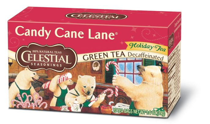 Celestial Seasonings Candy Cane Lane Decaf Green Tea, excited to try this flavor. @Influenster #CelestialTea