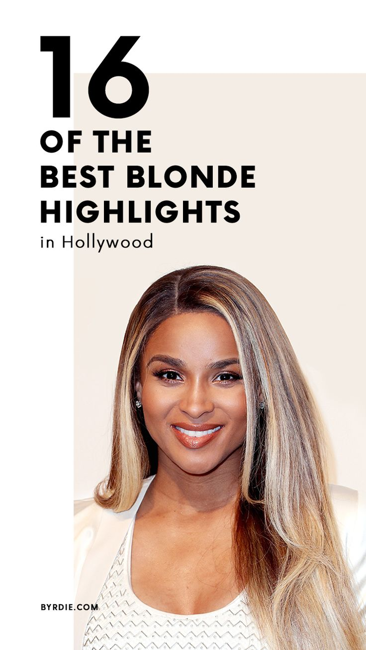 The best blonde highlights in Hollywood