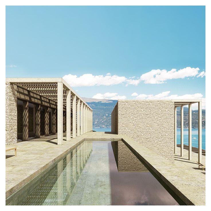 """David Chipperfield - Villa Eden [Italy, 2015] """""""