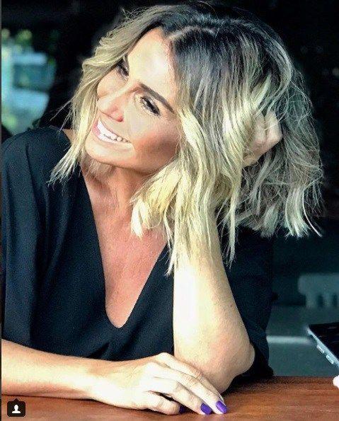 cbb263ed0 Cor cabelo Loiro Baunilha Giovanna Antonelli Segundo Sol - Luzia - Wella  Professionals
