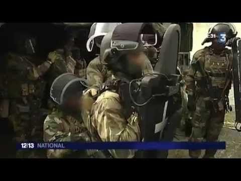 Forces spéciales francaises stage commando 1er RPIMA