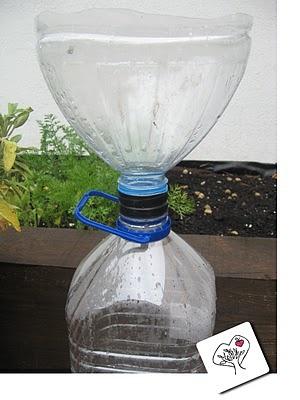Sitema fai da te per raccogliere l'acqua piovana